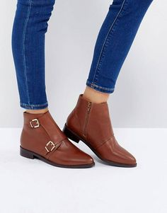 Ankle Boots | Flat & Heeled Ankle Booties | ASOS