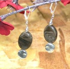 @Overstock - Susen Foster Silverplated 'Mocha Frapuccino' Coffee Jasper Earrings  - Brown coffee jasper stones with swirls of mocha give these earrings the appropriate name of 'Mocha Frapuccino'. Hanging from silverplated leverback clasps, these earrings will highlight any ensemble.    http://www.overstock.com/Main-Street-Revolution/Susen-Foster-Silverplated-Mocha-Frapuccino-Coffee-Jasper-Earrings/5965970/product.html?CID=214117  $17.49