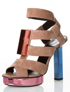 PIERRE HARDY HEELS PRICE: $276 ORIGINALLY: $1,330 SIZE:IT 37.5 / US 7.5