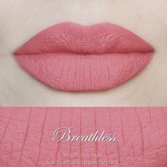 Breathless Liquid Lipstick Matte Liquid Lipstick von BeautyBarBaby