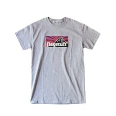 "DESIGN T-SHIRT ""BOX LOGO"" GREY 