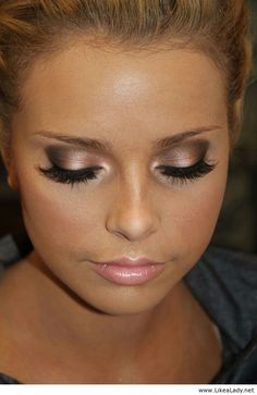 Cute makeup for weddings