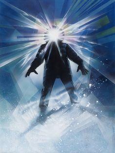 『遊星からの物体X』(1982) このポスターがわずか24時間で描き上げられたとは、驚くほかない。その上、ストルーゼンがこの仕事を受けたとき、台本もスチールも見ておらず、配役さえ知らなかったという。カーペンターのファンにとってこのイメージは、いまでは映画と切り離せない。IMAGE COURTESY OF DREW STRUZAN