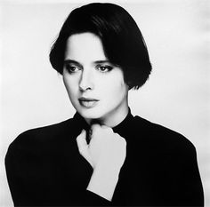 Isabella Rossellini by Terry O'Neill
