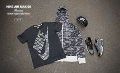 "atmos x Nike – ""Black Tiger Camo Pack"""