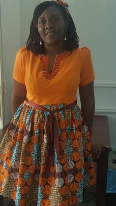 Short African Dresses, African Blouses, Latest African Fashion Dresses, African Inspired Fashion, African Print Fashion, Africa Fashion, African American Fashion, Traditional African Clothing, Shweshwe Dresses