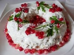 Travelling and Cooking: Cabbage, Carrots, Apple and Greek Yogurt Salad Christmas Cake Pops, Christmas Desserts, Xmas Food, Christmas Cooking, No Cook Desserts, Dessert Recipes, Fun Cooking, Cooking Recipes, Cyprus Food