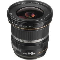 CANON EF-S 10-22mm f/3.5-4.5 USM ULTRA WIDE ANGLE ZOOM LENS EOS CAMERA