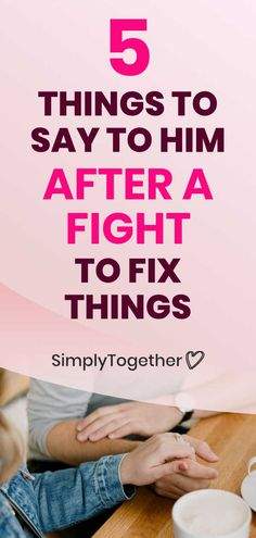 After a fight with your boyfriend or husband, there are a lot of tense feelings left hanging in the air that you need to face and defuse. Here are 5 things you need to say to make peace in your relationship and fix things. Marriage Advice, Relationship Advice, Relationships, Improve Communication, Make Peace, Fix You, Your Boyfriend, 5 Things, Husband