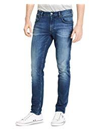 Online shopping for Jeans - Men from a great selection at Clothing & Accessories Store. Calvin Klein, Mens Fashion Magazine, Loose Fit Jeans, Straight Cut Jeans, Men's Jeans, Accessories Store, Fashion Wear, Skinny Fit, Casual Looks