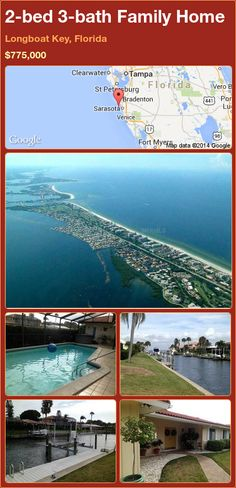 2-bed 3-bath Family Home in Longboat Key, Florida ►$775,000 #PropertyForSale #RealEstate #Florida http://florida-magic.com/properties/84025-family-home-for-sale-in-longboat-key-florida-with-2-bedroom-3-bathroom