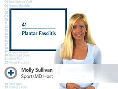 Plantar Fasciitis Video. Treatment and Recovery by Dr. Randa Bascharon  Pinned by SOS Inc. Resources @SOS Inc. Resources.