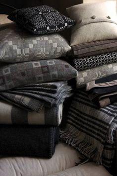 Accessories: Melin Tregwynt Welsh Tapestry Blankets
