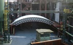 Ausstellungsbau Welterbe Zollverein, Architektur   System 180