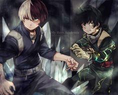 Shouto and Deku - Boku no Hero Academia
