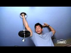 ▶ How to Convert a Can Light to a Pendant Light - YouTube