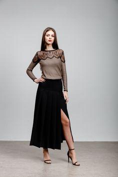 Waist Skirt, High Waisted Skirt, Yellow Cat, Skirts, Fashion, Moda, High Waist Skirt, Fashion Styles, Skirt