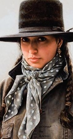Diamond Cowgirl ~ Art by Carrie Ballantyne