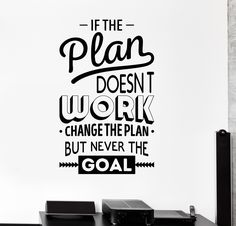 Vinyl Wall Decal Inspire Office Decoration Motivation Stickers Mural (ig4390)