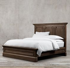 Montpellier Panel  Bed Without Footboard