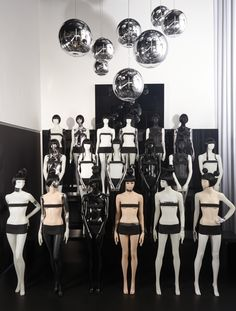 Genesis Mannequin Showroom, Auetal – Germany » Retail Design Blog Shop Window Displays, Store Displays, Visual Merchandising, Store Mannequins, Branding, Market Stalls, Living Dolls, Design Furniture, Window Shopping