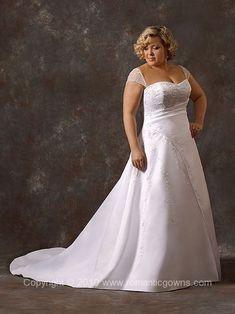 Vestido de noivas para gordinhas parte 2