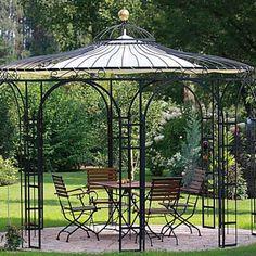 Eisenpavillon von ELEO | Die Krönung für Ihren Garten
