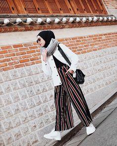 Islamic Fashion, Muslim Fashion, Modest Fashion, Casual Hijab Outfit, Hijab Chic, Indie Fashion, Girl Fashion, Chic Outfits, Fashion Outfits