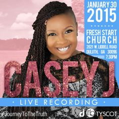 New from Tyscot Records, Casey J a breath of fresh air for worship