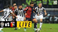 Juventus vs Genoa LIVE / April 23, 2017 Watch Football, Football Match, Italian League, Juventus Stadium, Match Highlights, Genoa, Baseball Cards, Live, Sports
