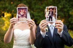 Idée originale pour la photo de mariage