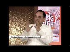 Dr.Subramanian Swamy rocks on NDTV Big Fight - hindu muslim votebanks