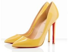 CHRISTIAN LOUBOUTIN Pigalle Mimosa Pumps