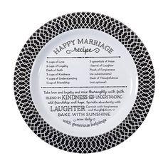 Happy Marriage Plate – ekseseri