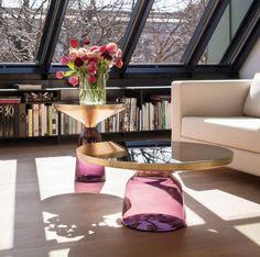 Table basse design par Eileen Gray (Bauhaus) - MENTON - CLASSICON