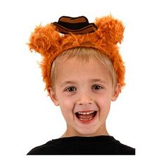 Muppets Fozzie Bear Fuzzy Costume Headband - Elope - Muppets - Costumes at Entertainment Earth