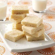 Scotch Shortbread Cookies Recipe from Taste of Home -- shared by Marlene Hellickson of Big Bear City, California