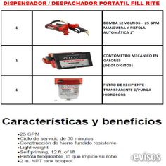 VENTA DE DESPACHADOR PORTATIL DE COMBUSTIBLES FILL RITE NUEVO SE VENDE DESPACHADOR PORTÁTIL DE COMBUSTIBLES FILL RITE NUEVO, ENSAMBLADO  MÁS TANQUE CISTERNA ... http://lima-city.evisos.com.pe/venta-de-despachador-portatil-de-combustibles-fill-rite-nuevo-id-614357
