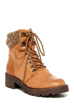 MIA | Maylynn Faux Shearling Lined Hiking Boot | Nordstrom Rack Sponsored by Nordstrom Rack.