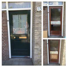 Oude deur ff pimpen