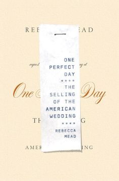 One Perfect Day #book jacket