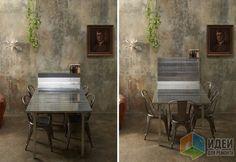 Складные столы и стулья, мебель-трансформер