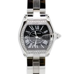 Cartier Roadster 2510 Stainless Steel Automatic 36mm Mens Watch