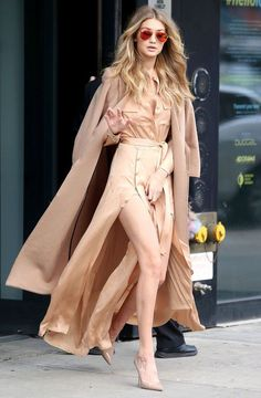 Gigi Hadid w Nowym Jorku, 08.12.2015, fot. East News