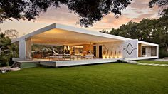 Impressive Modernist Glass-Walled Luxury Residence in Montecito, CA, USA (by Steve Hermann) - YouTube