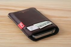 leather iPod case