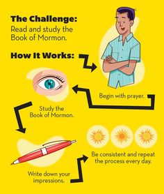 Book of Mormon Challenge from Jan 2013 New Era Magazine. Cool bookmark!