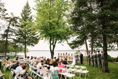 Crosslake MN Wedding Photographer at Manhattan Beach Lodge Beach Wedding