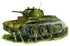 Light tank BT-7 Model 1937 / czołg lekki BT-7 model 1937