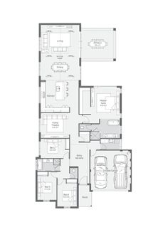 New Home Designs Perth   Explore New House Designs & Prices 4 Bedroom House Plans, New House Plans, Modern House Plans, Design Your Dream House, Build Your Dream Home, House Design, Floor Layout, Storey Homes, Display Homes